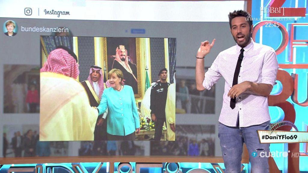 Dani analiza el Instagram de Angela Merkel y descubre su gran colección de chaquetas