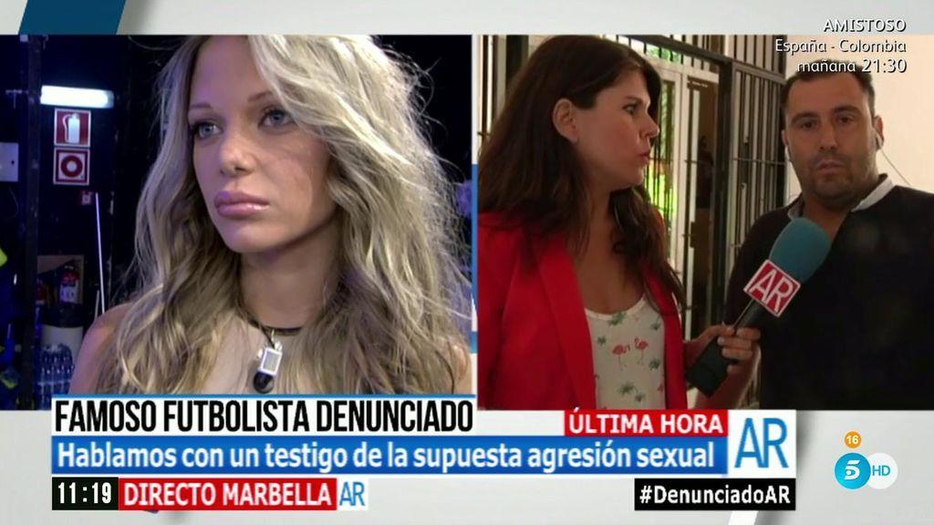 """Un testigo de la noche de la supuesta agresión de Theo Hernández a Luisa Kremleva: """"Roció con un spray a otra chica"""""""