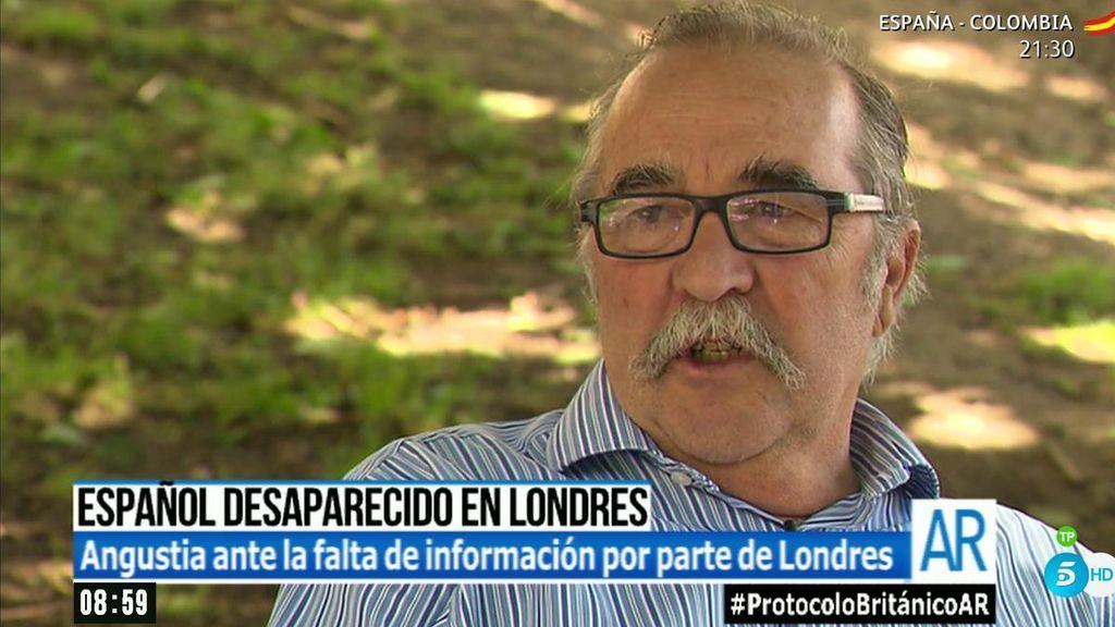 """El tío de Ignacio Echeverría: """"No podemos entender que esto esté ocurriendo"""""""
