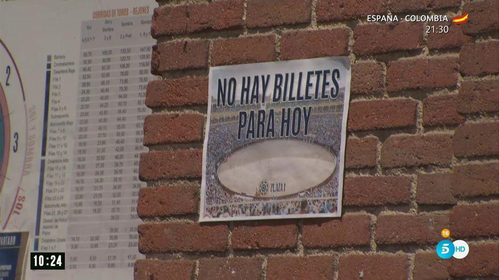 Negocio de la reventa: así se inflan los precios de las entradas a las puertas de las plazas de toros