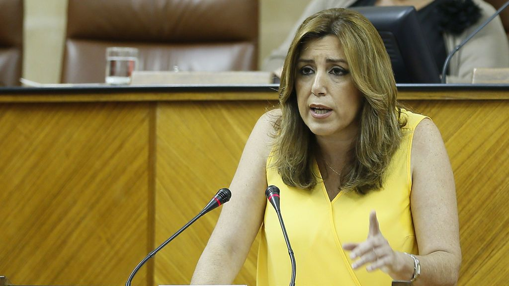 Susana Díaz anuncia una renta mínima para familias con menos de 415 euros al mes