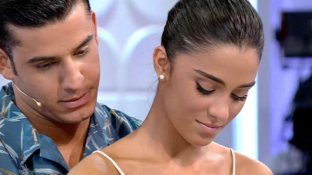 Yera lo tiene claro, los besos de Claudia son los que más le gustan
