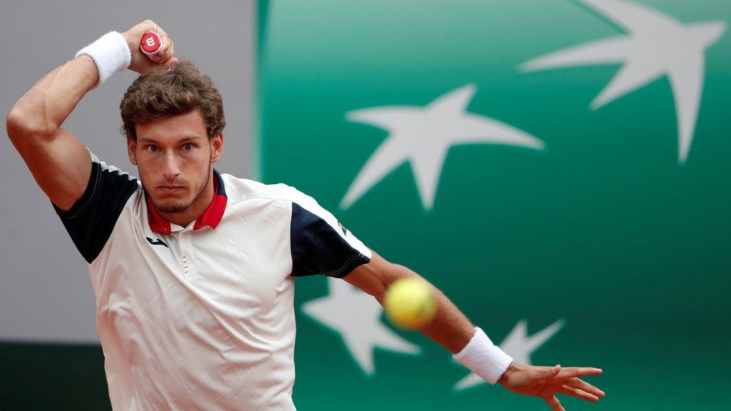 Roland Garros: los octavos entre Nadal y Carreño, en imágenes