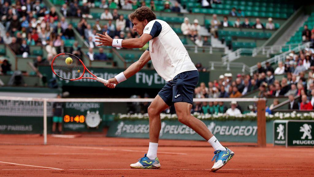 Roland Garros: los octavos de final entre Rafa Nadal y Pablo Carreño, en imágenes