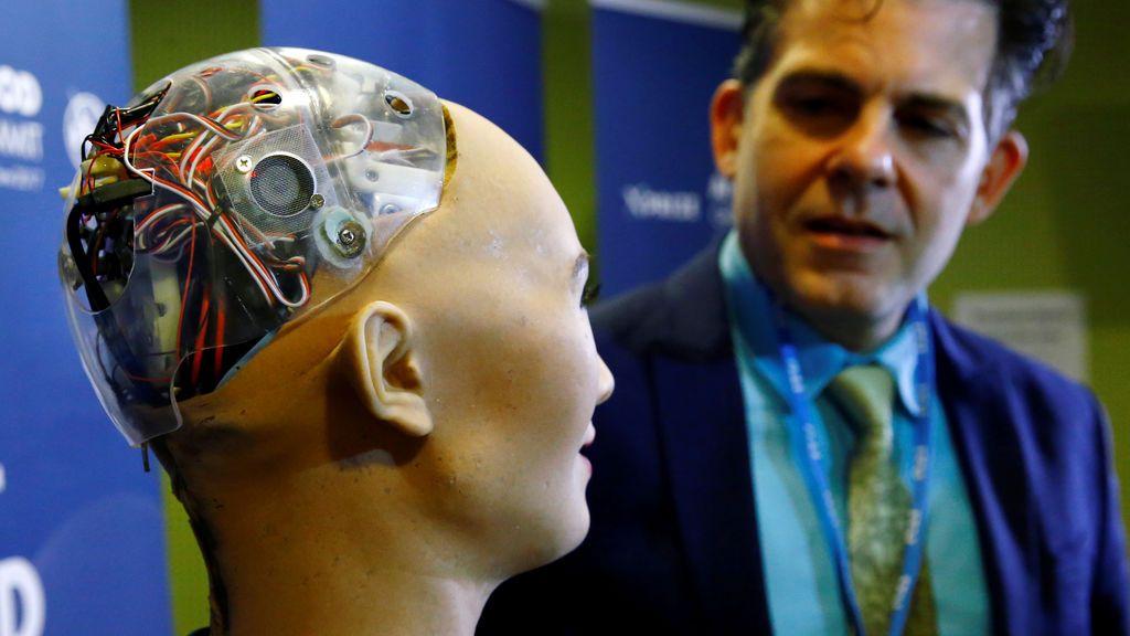 Sophia, el robot con las últimas tecnologías e inteligencia artificial