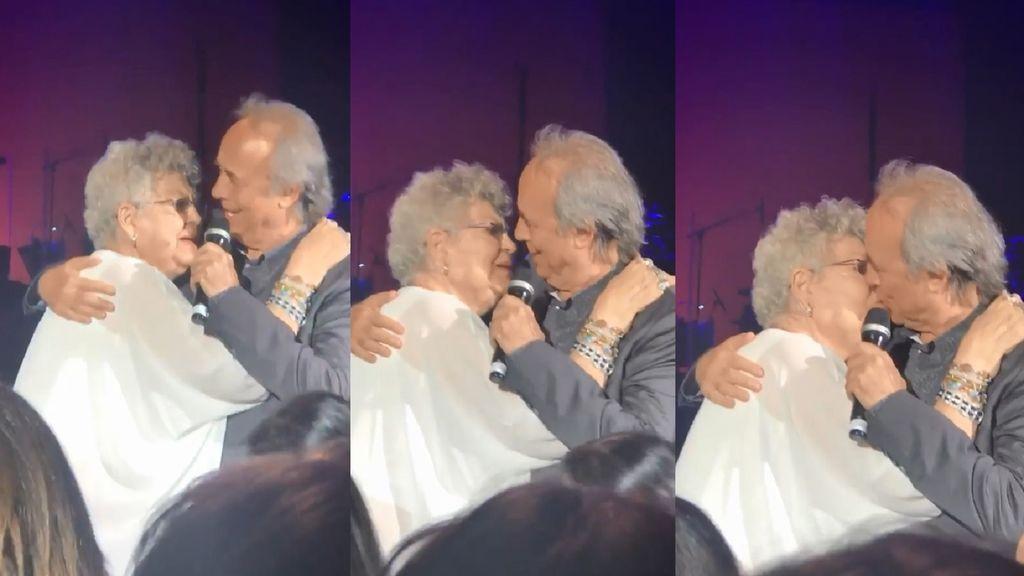 Lágrimas, besos y aplausos en el momento más  especial de Pilar Bardem
