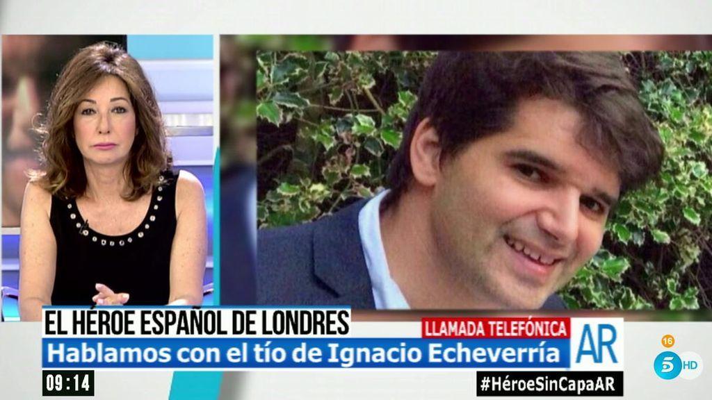 """Pedro Hornedo, tío de Ignacio Echeverría: """"Estamos igual de perplejos e indignados"""""""