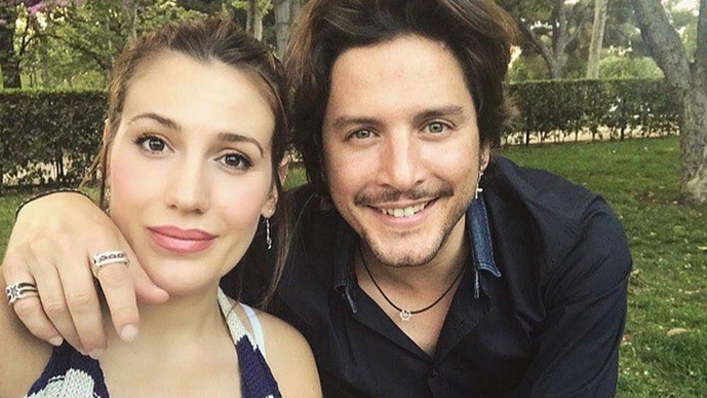Almudena Navalón y Manuel Carrasco