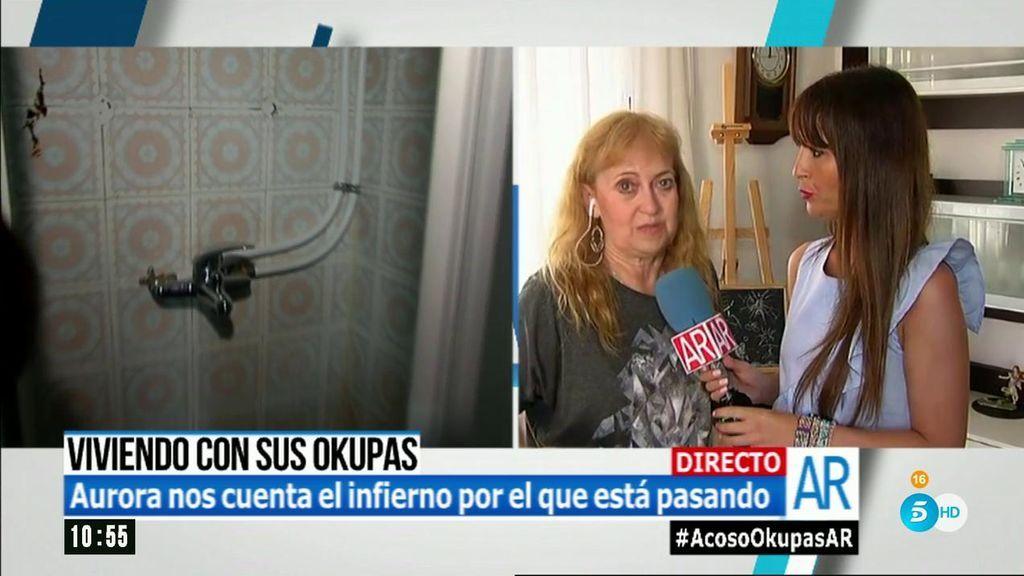 """Aurora vive con okupas en su propia casa: """"La ley les ampara, pero estoy en vía de desahuciarles """""""