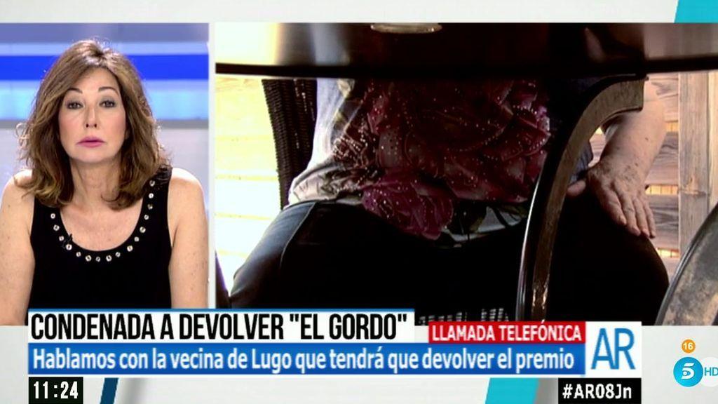 """Rosalía, condenada a devolver 'El Gordo': """"Yo lo compré, estoy diciendo la verdad"""""""