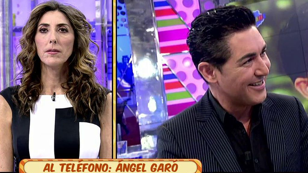 El gran enfado de Ángel Garó con 'Sálvame'