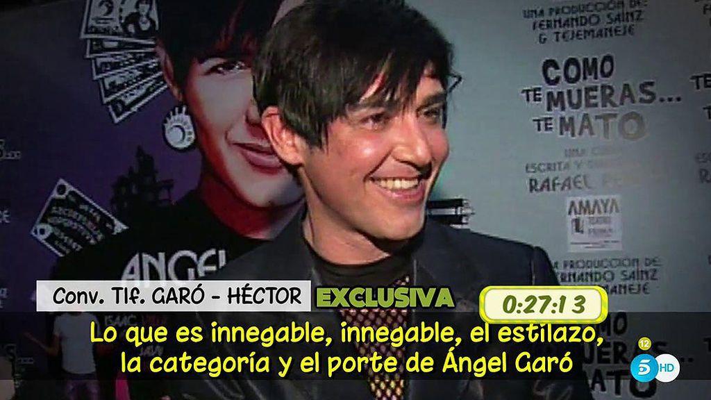 Héctor afirma que Ángel Garó le ha pedido que hable mal de su expareja, Darío