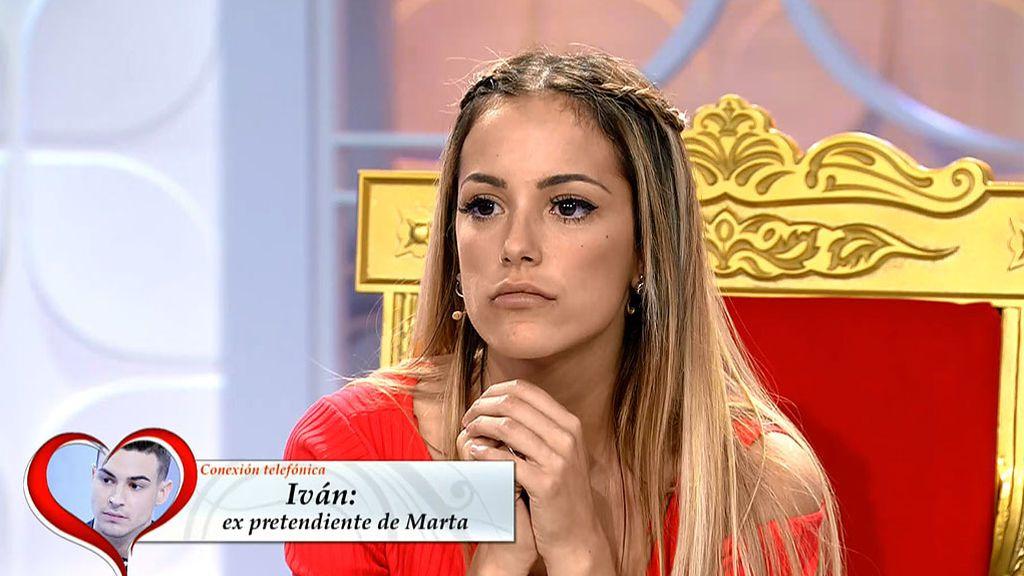 "Iván, a Marta: ""Te echo de menos, pero no voy a volver"""