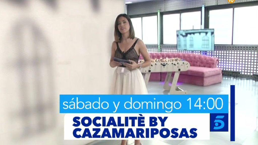 Los famosos y todo su glamour en 'Socialitè by Cazamariposas'