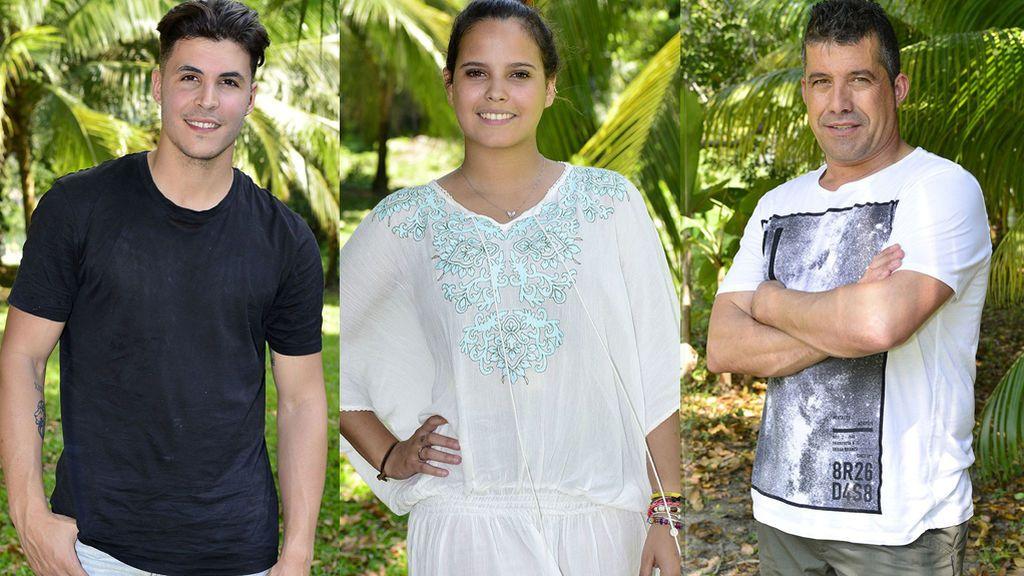 José Luis, Kiko y Gloria Camila, nominados de 'Supervivientes'