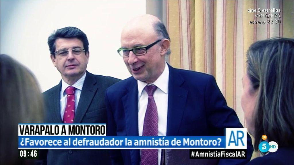 La lista de los hombres más conocidos que se han acogido a la amnistía de Montoro