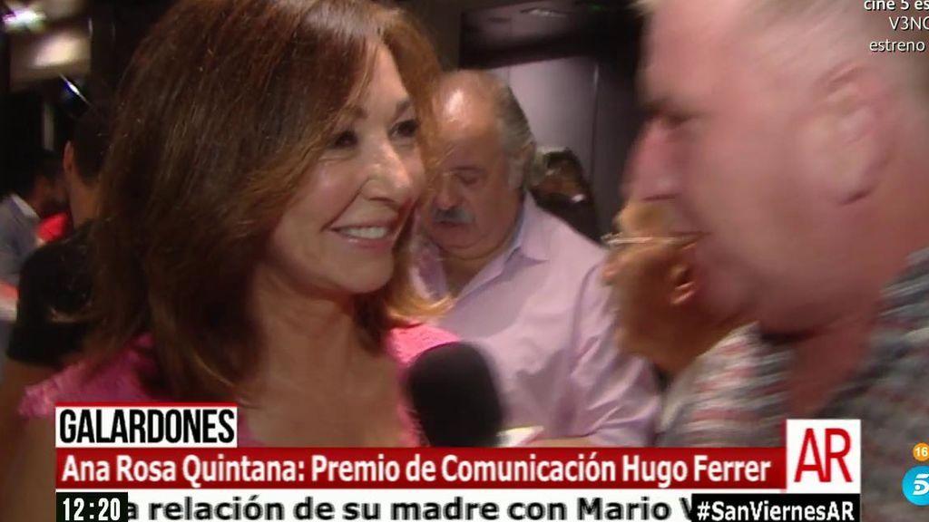 Ana Rosa Quintana, premiada por los periodistas