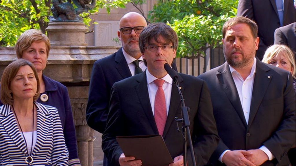 """El referéndum será el 1 de octubre: """"¿Quieres que Cataluña sea un estado independiente con forma de república?"""""""