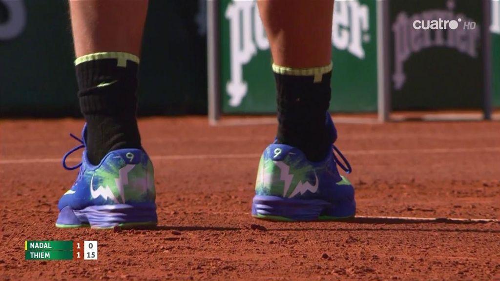 ¡Los nueve Roland Garros de Nadal, el detallazo en sus zapatillas!
