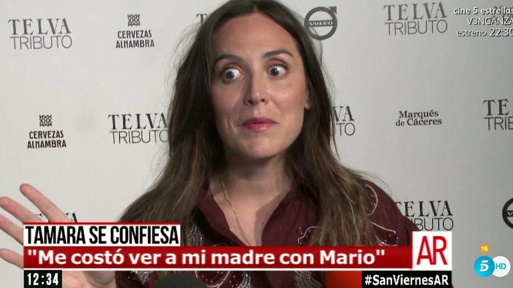 """Tamara Falcó no tiene pelos en la lengua: """"Me costó ver a mi madre con Mario"""""""