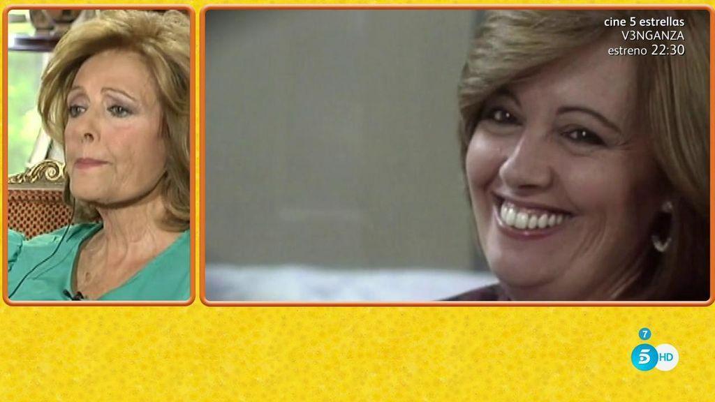 Mª Teresa Campos se emociona al recordar su trayectoria profesional