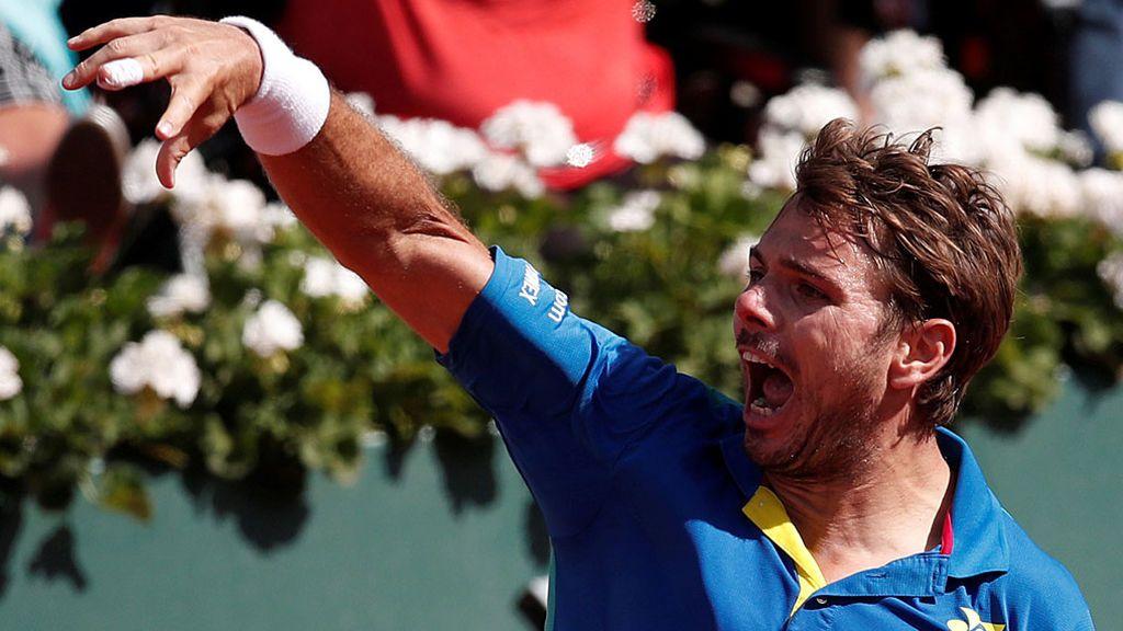Wawrinka agota a Murray en cinco sets y se mete en la final de Roland Garros