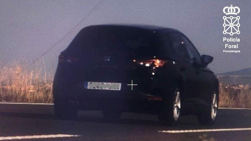 Denunciado un conductor en Tudela por circular a 199 km/h y dar positivo en cocaína