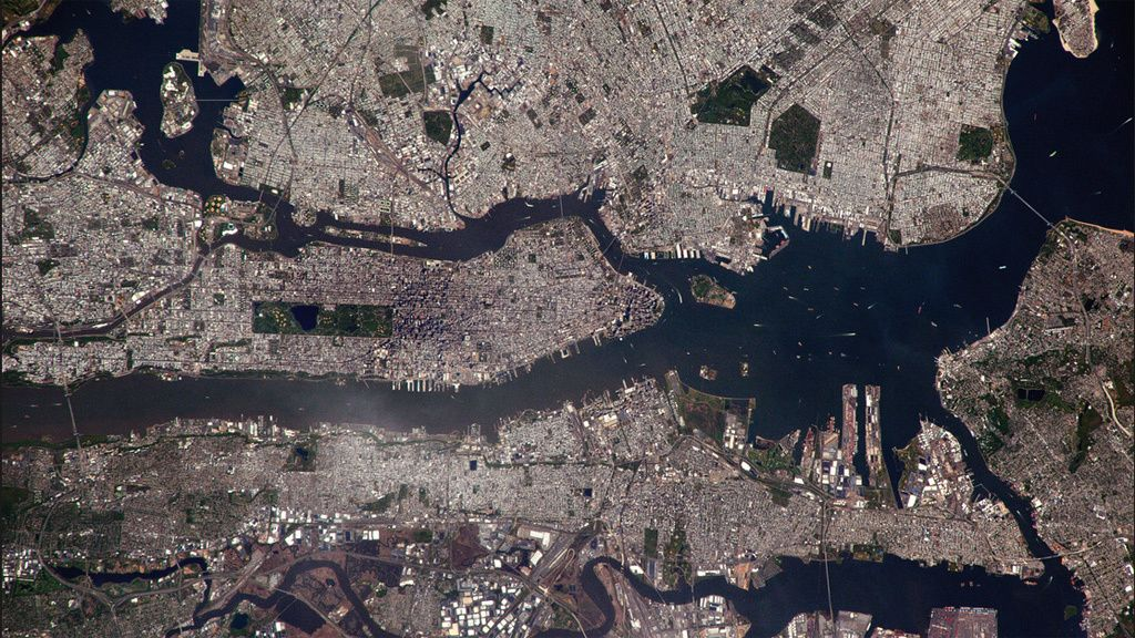 Los lugares más fascinantes de la Tierra vistos desde el espacio