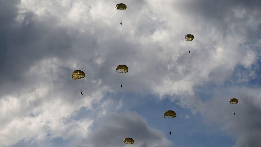 Paracaidistas peruanos en Satipo