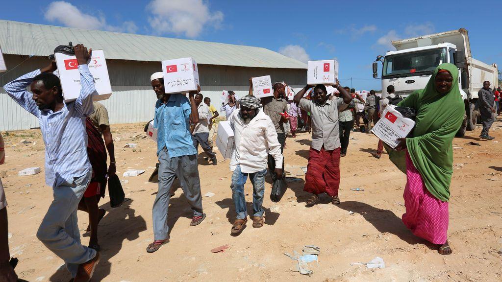 14 muertos en enfrentamientos por el reparto de la ayuda alimentaria en el sur de Somalia