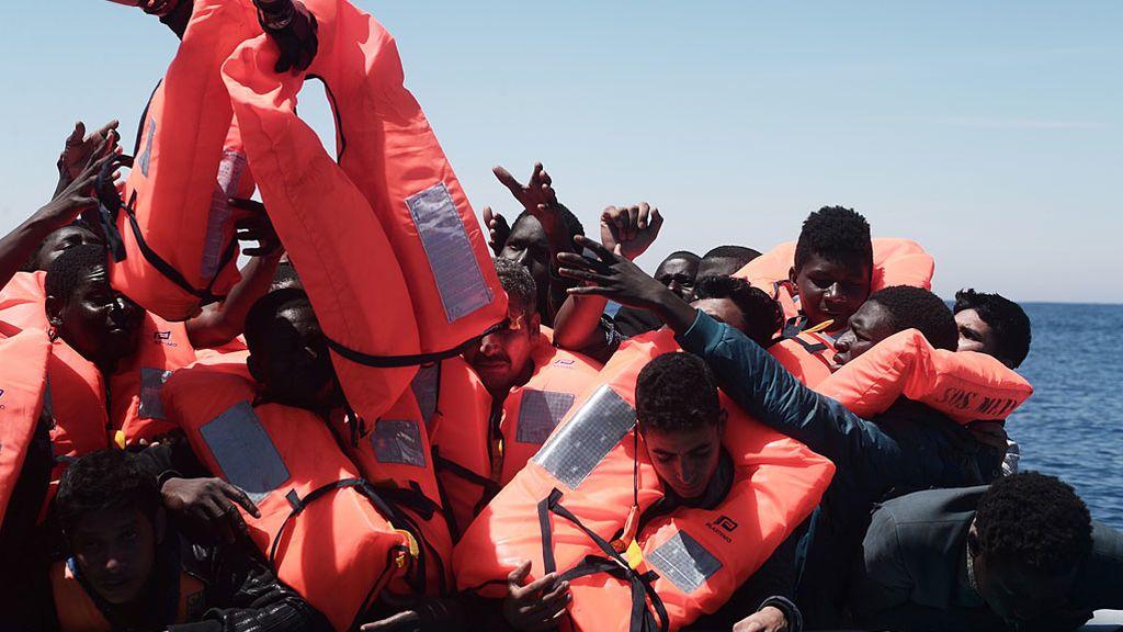 Rescatados 1.650 inmigrantes en el Mediterráneo durante la jornada del sábado