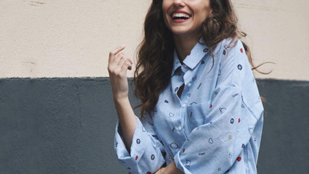 camisas de rayas con dibujos