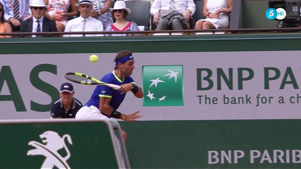 ¿¡El mejor punto de la carrera de Nadal en Roland Garros!? Hasta Wawrinka le aplaude