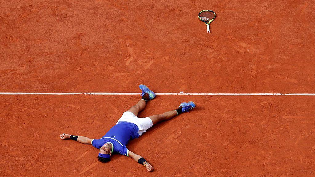 ¡El más grande de todos! El punto con el que Rafa Nadal ganó su décimo Roland Garros