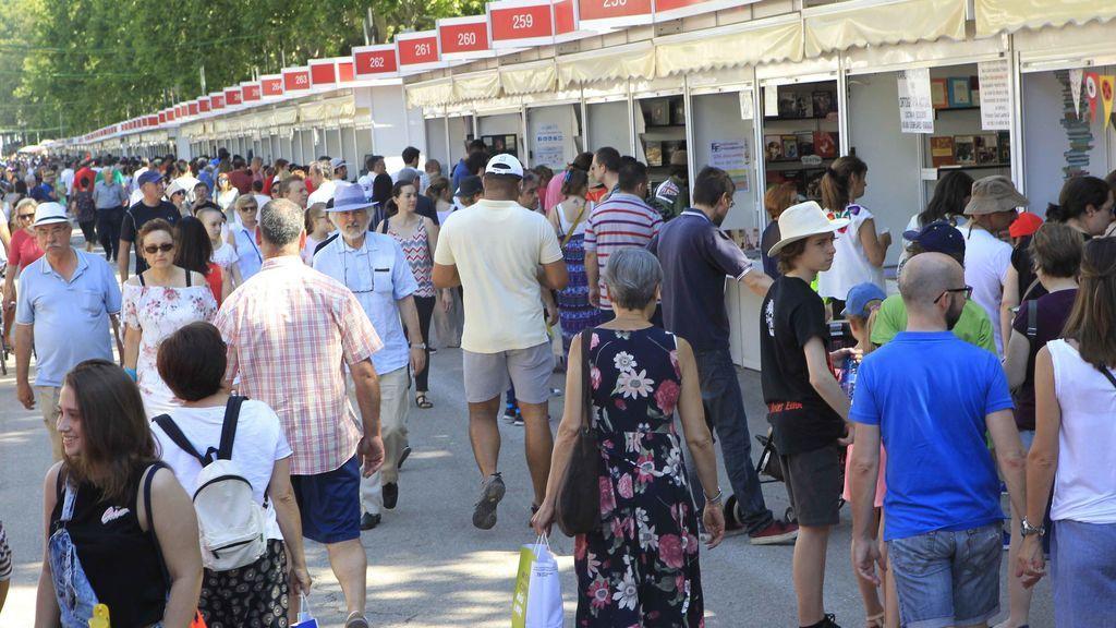 La 76 Feria del Libro de Madrid cierra con casi 9 millones de euros en ventas