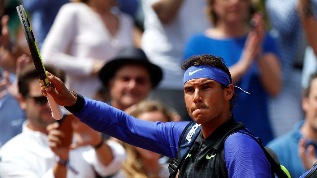 Diez fotos para la historia: la furia, la concentración y las emociones de Nadal en su décimo Roland Garros