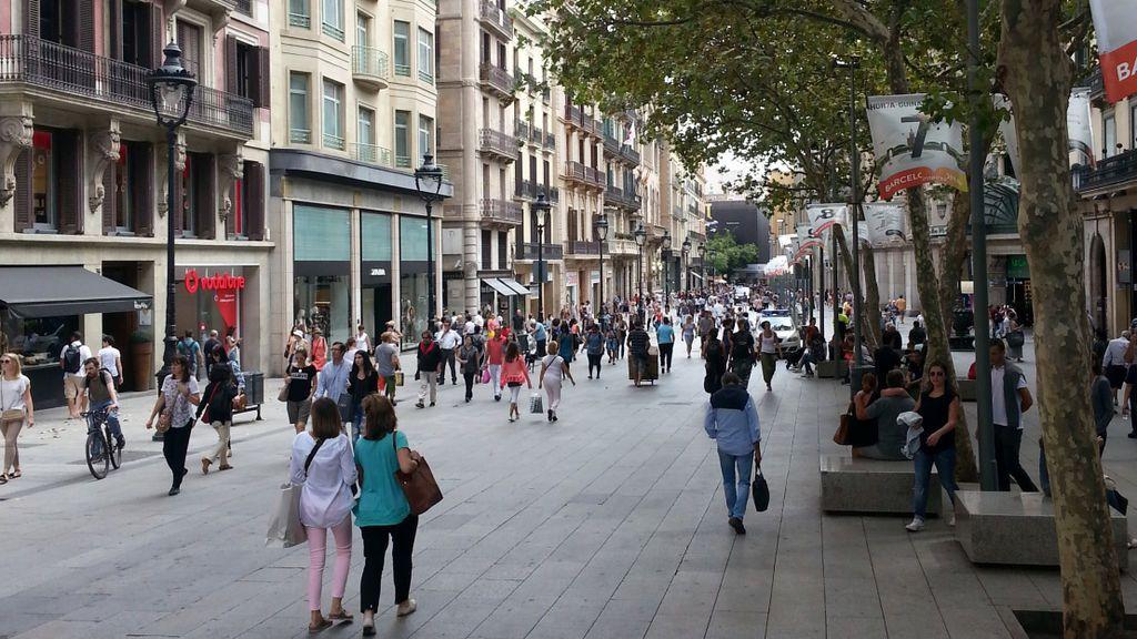 Port de L'Angel y Preciados, las calles comerciales más caras de España