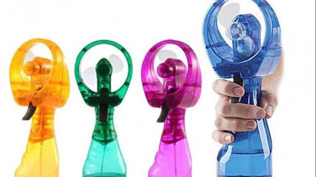 Ventilador de agua: una renovada versión del tradicional 'flus-flus'