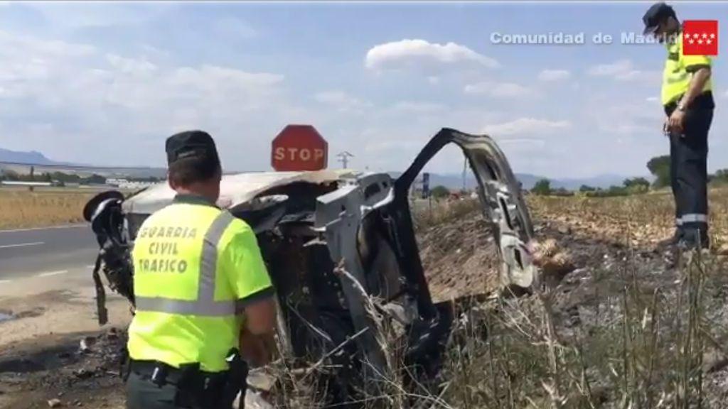 Catorce personas mueren en las carreteras en el fin de semana