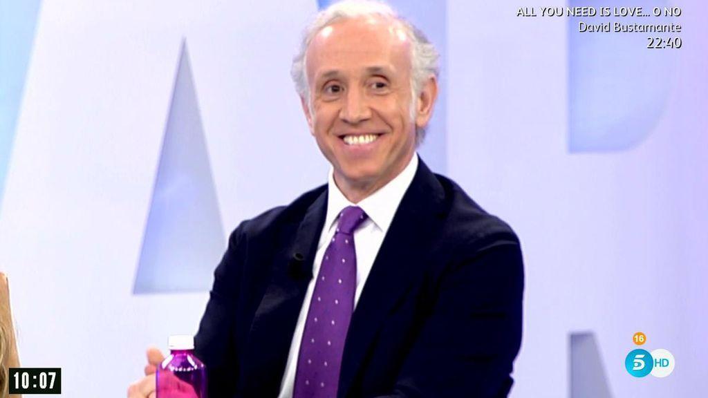 Inda rectifica sobre 'los novios' de Podemos... y confiesa que  Pablo e Irene le han regalado su corbata
