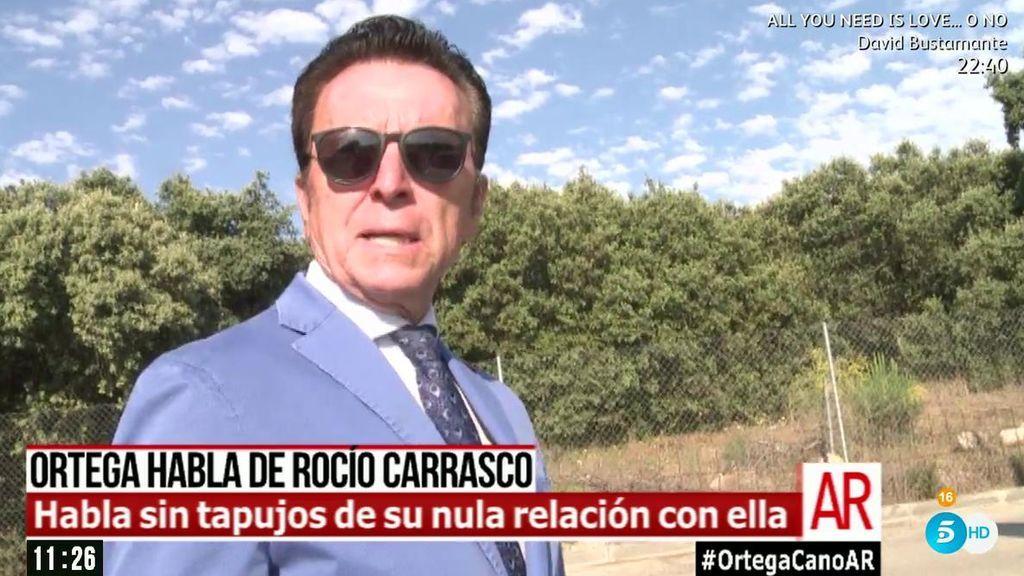 """Ortega Cano habla de Rocío Carrasco: """"Ella decide y nosotros asumimos"""""""