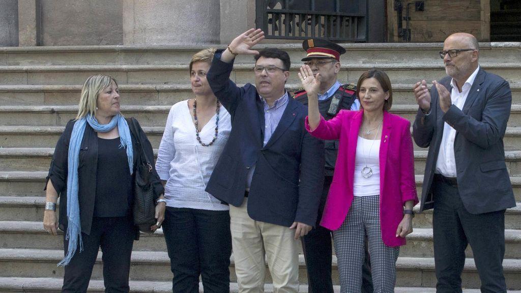 El diputado de SíQueEsPot  Nuet  declara ante el TSJC por instar al referéndum soberanista