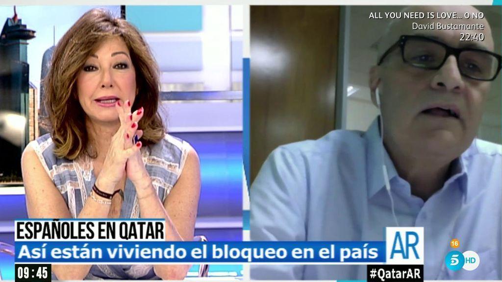 """Fernando Martín, español residente en Qatar: """"La ciudad está igual, no hay pánico"""""""