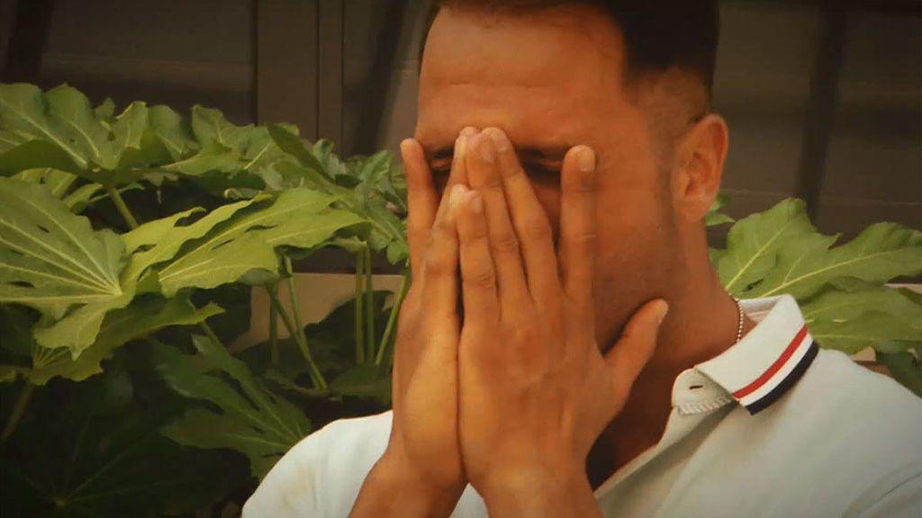 """Fabio, roto: """"No sé con quién me voy a ir """""""