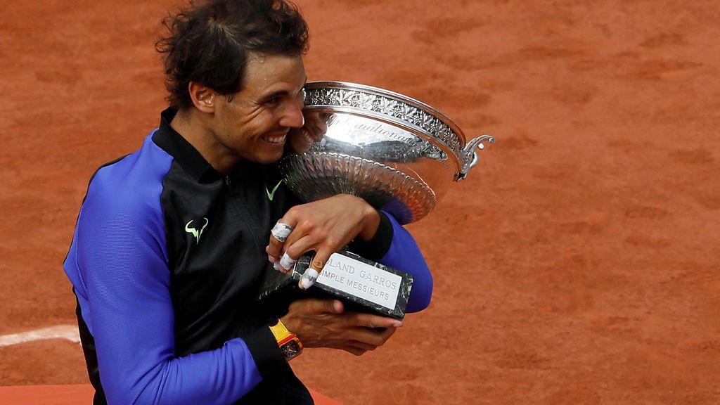 ¿Qué se siente al ganar diez Roland Garros? Rafa Nadal intenta explicarlo con esta imagen