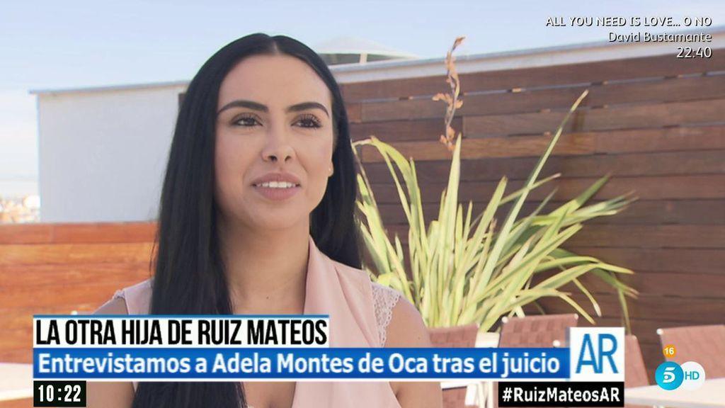 """Adela Montes de Oca ya es una Ruiz-Mateos: """"El próximo caso es la herencia"""""""