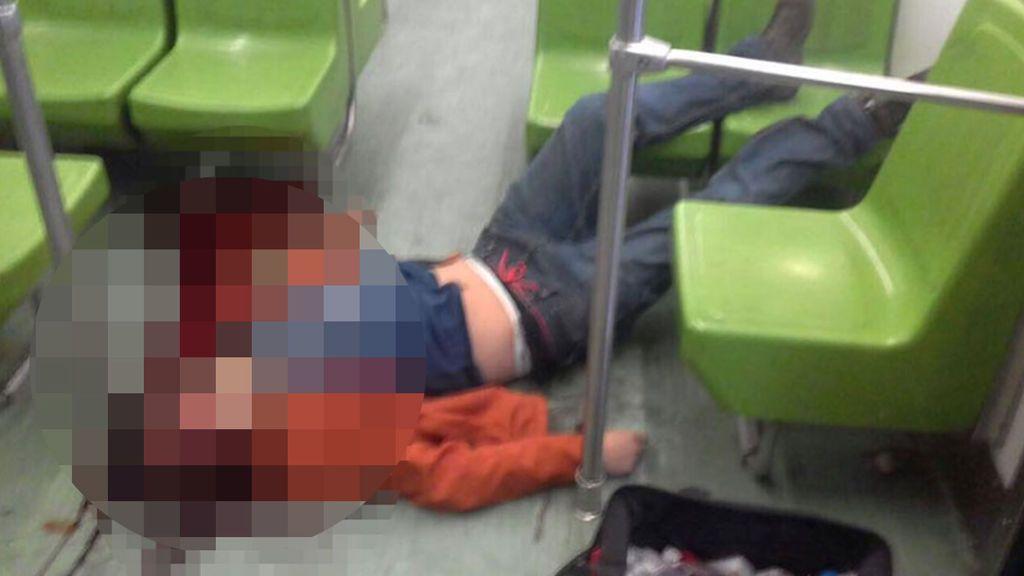 Un pasajero del metro mexicano muere al golpearse tras asomar la cabeza por la ventanilla del convoy