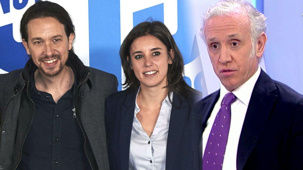 Inda habla de 'los novios' de Podemos y el plató se rebela: ¿está siendo machista con Irene Montero?