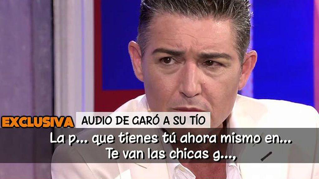 El durísimo mensaje de audio que Ángel Garó envió a su tío