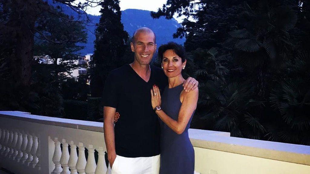 Zidane escoge Italia para disfrutar de sus vacaciones junto a su mujer